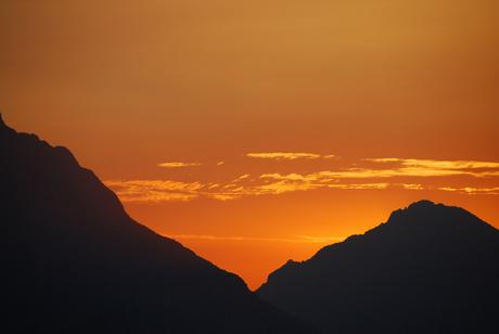 Zonsondergang Gardameer