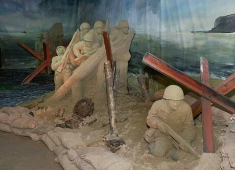 Zandsculpturen (invasie) 2
