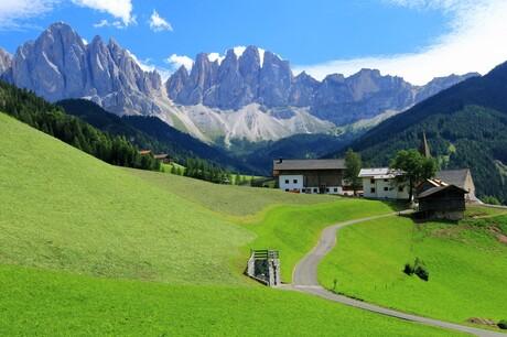 Sankt Magdalena Villnösstal Zuid Tirol