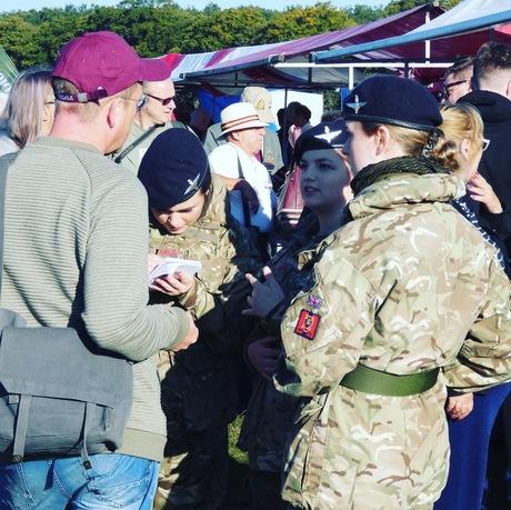 British female cadets at Market Garden
