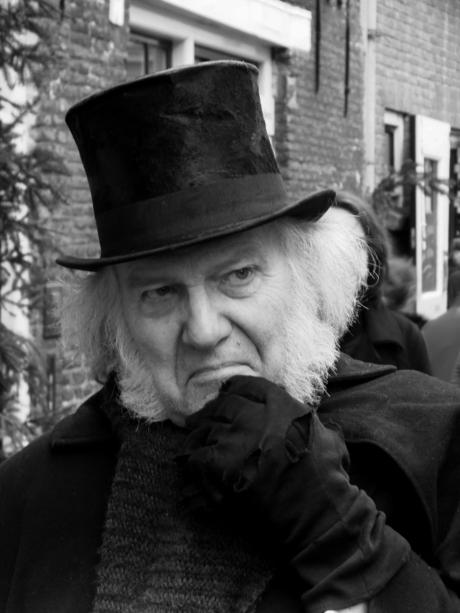 Grumpy old Scrooge!