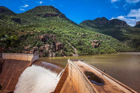 Preset van Swadini dam zuid afrika