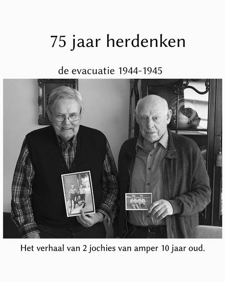 de evacuatie 1944-1945