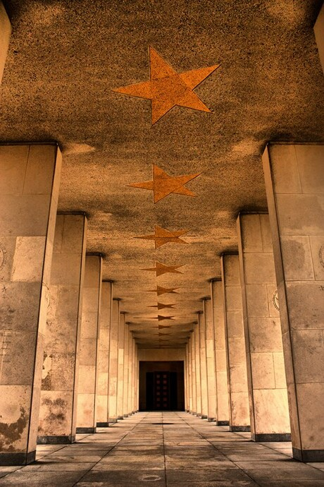 A hallway to heaven..