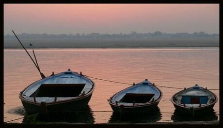 three little boats