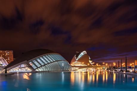 Valencia by night