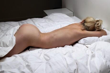 Bobbi in the bedroom