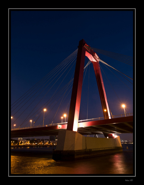 Rood in het donker
