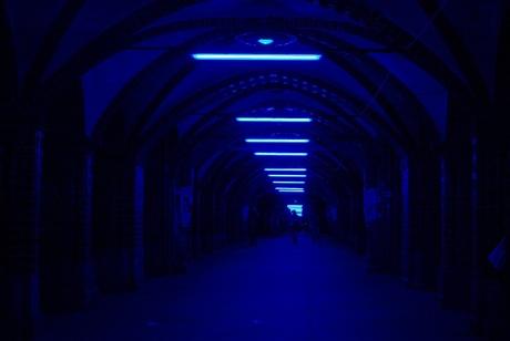Berlijn - Festival of Lights - Oberbaumbrucke
