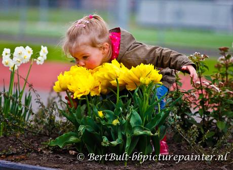 wat ruiken die bloemen lekker