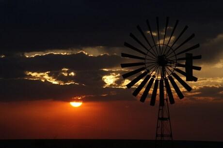 zonsondergang masai mara
