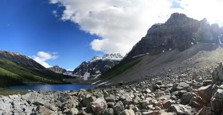 Consolation Lake - Giant rocks | Tiny human