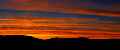 panorama van zonsopgang