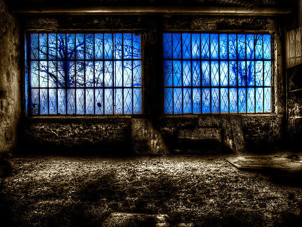 Blue - On a Russian Air Base in the former DDR Sorry but my upload and reactions to zoom side is not so much thourg the leck of time - foto door fap op 02-04-2014 - deze foto bevat: foto, urban, verlaten, vervallen, hdr, duitsland, urbex, oost, bunkers, ddr, tonemapping, nuclear, atoom, armament, voormaling, fap., kernwapens, ud, Beauty of decay, Zerbst