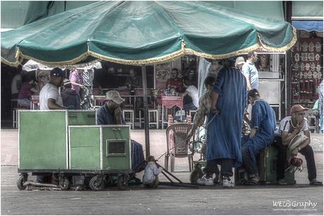 Op straat in Marrakech 4