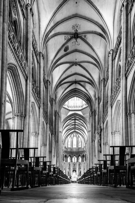 Kathedraal aan de binnenkant