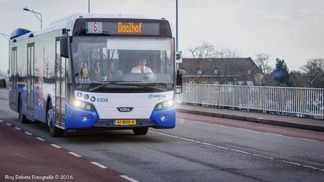 Arriva lijnbus in Maastricht