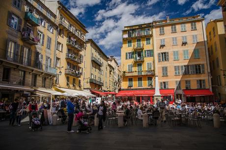 toeristen in Marseille
