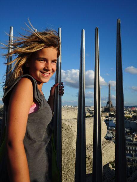 Vanaf de Arc de Triomphe