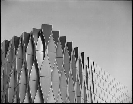 Kunst gebouw UMCG Groningen