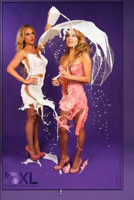 Duo milkdress