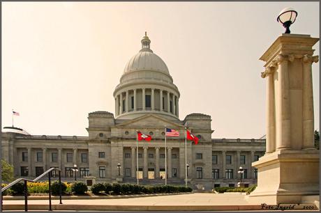 Het Capitol van gouverneur Clinton. 1