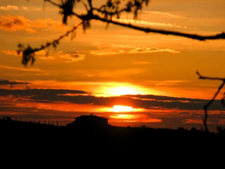 Zonsondergang in Toscane - Voor het heerlijke vakantiegevoel - foto door svanderzwaan op 01-04-2010 - deze foto bevat: zonsondergang, vakantie, toscane, italie