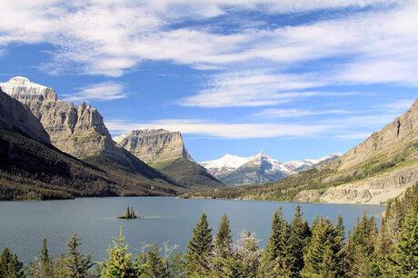 St.Mary Lake , Glacier NP