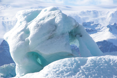 oneindige ijsmassa