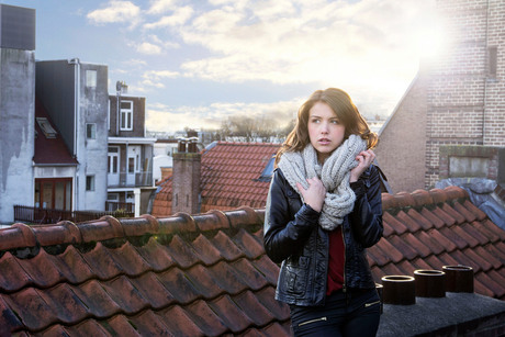 On the roof top