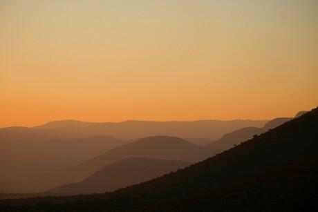 Zuid-Afrika in oranje