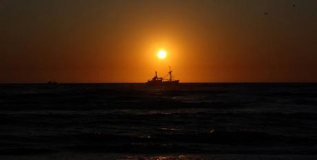 When the sun sets..