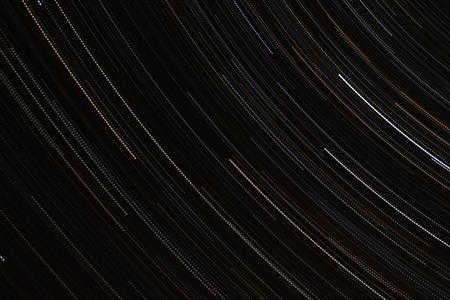 """Stars and Stripes - Eerste resultaat van een nieuwe techniek uitproberen, """"Star Trailing"""" - camera richting donkere hemel richten:  * 114 foto's * f 4.0 * ISO 400 * - foto door lucsevriens op 23-12-2013 - deze foto bevat: nacht, oostenrijk, sterren, star trailing"""