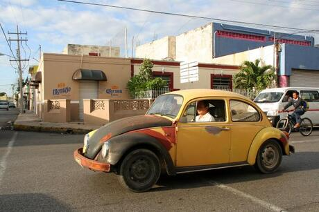 Mexican street...