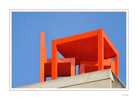 Oranje - boven