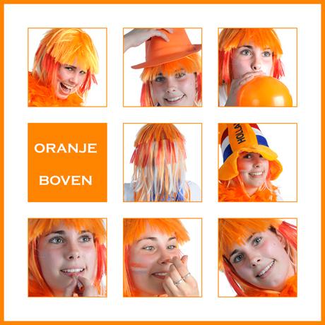 Oranje boven collage