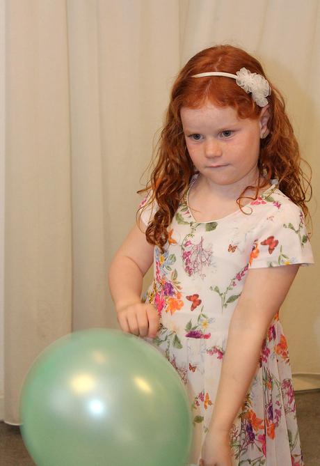 meisje met balon
