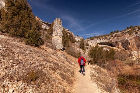 Wandeling door canon del Rio Lobos