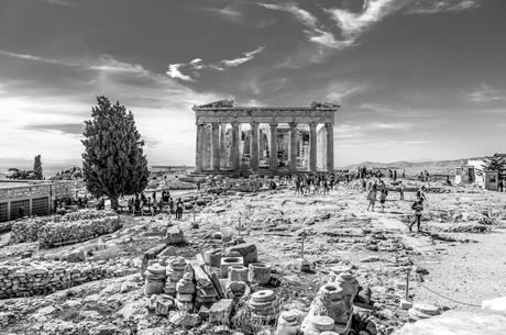 Athene - het Parthenon op de Akropolis.