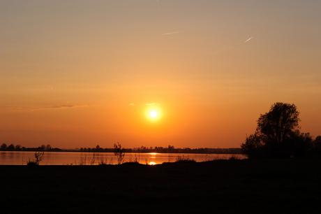 Sunset Noord Aa