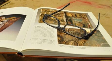boek met bril