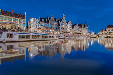 Blue Hour in Gent