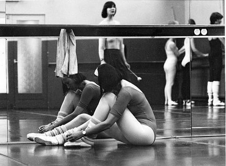 Balletles in zwart -wit
