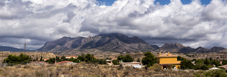 Skyline of Busot