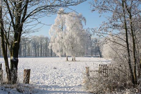 Slangenburg in winterse sferen