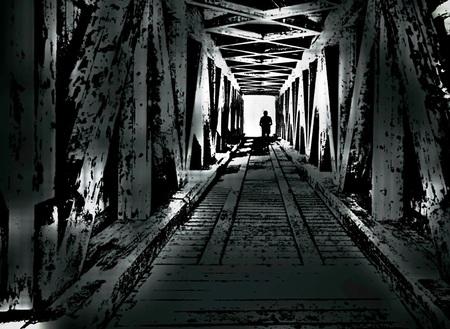 Naar het licht - . - foto door Time---traveler op 14-04-2021 - deze foto bevat: zwart, zwart en wit, stijl, lijn, doorgaande weg, kunst, symmetrie, tinten en schakeringen, parallel, monochroom