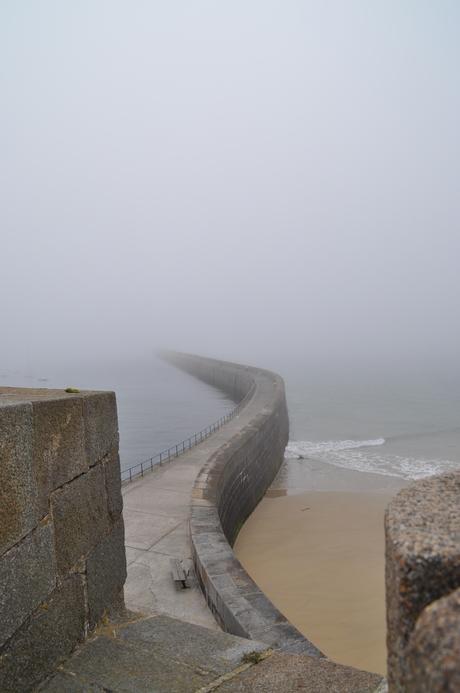 verdwenen in de mist
