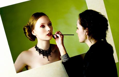 Model Marja Van Aken