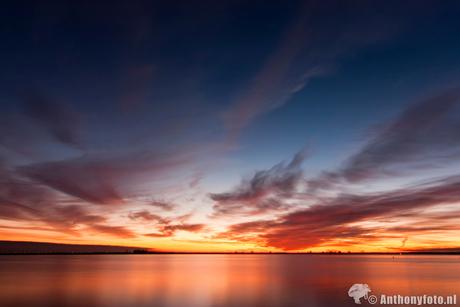 Sunset @ Flevoland