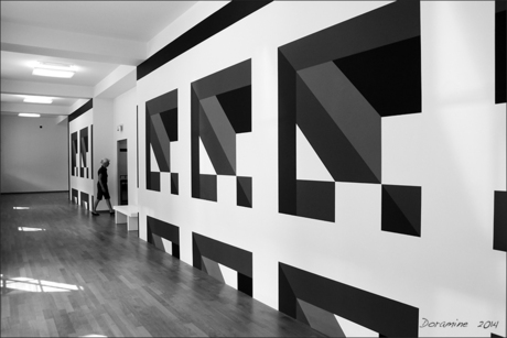 Perspectief in zwart/wit